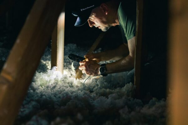Insulation keeps warm air inside in the winter and cool air inside in the summer.